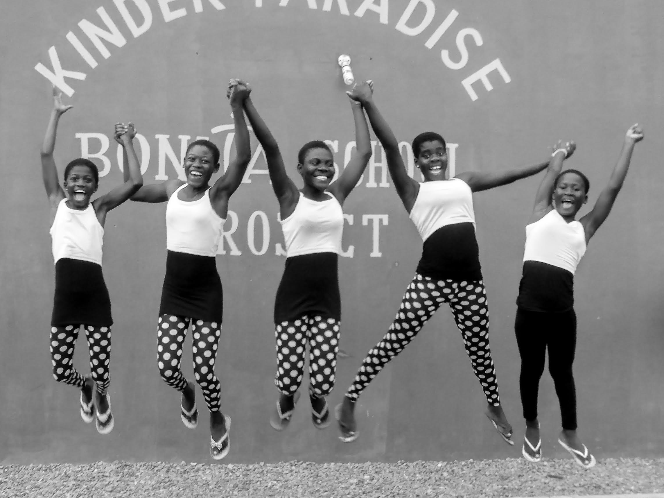 Kinderhilfe Afrika Ghana Spenden Kinder Pradise