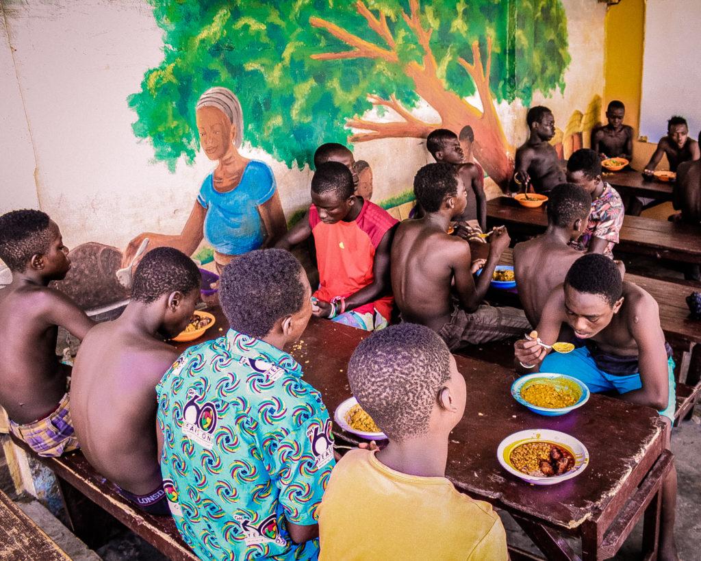 Ghana Tageszentrum Kinder Paradise