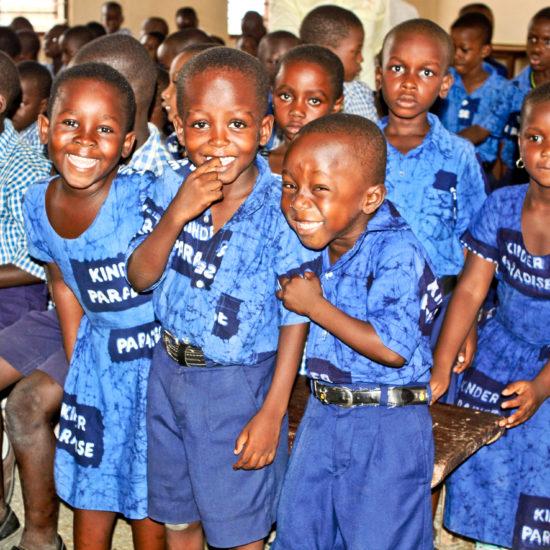 Spendenhilfe Kinder Paradise Afrika